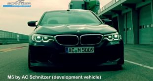 ACS5 Sport BMW M5 F90 2018 Tuning AC Schnitzer 8 310x165 Video: BMW M5 / Mercedes AMG E63s / Porsche Panamera Turbo S / Cadillac CTS V