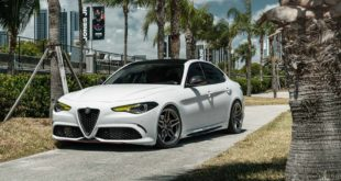 Alfa Romeo Giulia Vossen M X1 Felgen Tuning 1 310x165 Video: Top   BMW 4er (F33) Cabrio auf AEZ Steam Felgen