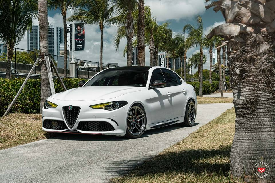 Perfect Alfa Romeo Giulia 952 On Vossen M X1 Rims