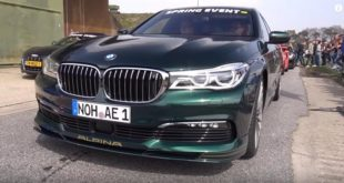 Alpina BMW B7 BiTurbo G11 310x165 Video: Alpina BMW B7 BiTurbo (G11) gegen C63s & Co.