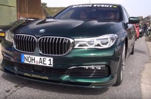 Alpina BMW B7 BiTurbo G11 310x205 Video: Alpina BMW B7 BiTurbo (G11) gegen C63s & Co.