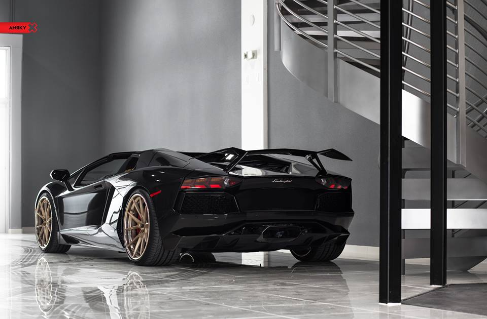Anrky AN32 Wheels Lamborghini Aventador LP700 4 Roadster 6 Anrky Forged Wheels am Lamborghini Aventador LP700 4 Roadster