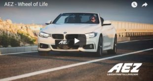 BMW 4er F33 Cabrio AEZ Steam Felgen 310x165 Video: Alfa Romeo Giulia Quadrifoglio vs. Ford Mustang Shelby GT350