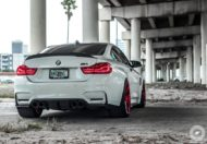 BMW M4 Coupe F82 ADV10 M.V2 Felgen Tuning 10 190x132 702 PS am Rad im BMW M4 Coupe auf ADV10 M.V2 Felgen