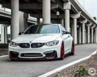 BMW M4 Coupe F82 ADV10 M.V2 Felgen Tuning 12 190x152 702 PS am Rad im BMW M4 Coupe auf ADV10 M.V2 Felgen