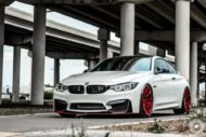 BMW M4 Coupe F82 ADV10 M.V2 Felgen Tuning 16 190x127 702 PS am Rad im BMW M4 Coupe auf ADV10 M.V2 Felgen