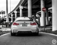 BMW M4 Coupe F82 ADV10 M.V2 Felgen Tuning 18 190x152 702 PS am Rad im BMW M4 Coupe auf ADV10 M.V2 Felgen