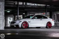 BMW M4 Coupe F82 ADV10 M.V2 Felgen Tuning 19 190x127 702 PS am Rad im BMW M4 Coupe auf ADV10 M.V2 Felgen