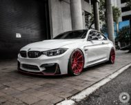 BMW M4 Coupe F82 ADV10 M.V2 Felgen Tuning 22 190x152 702 PS am Rad im BMW M4 Coupe auf ADV10 M.V2 Felgen
