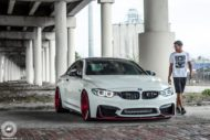 BMW M4 Coupe F82 ADV10 M.V2 Felgen Tuning 3 190x127 702 PS am Rad im BMW M4 Coupe auf ADV10 M.V2 Felgen