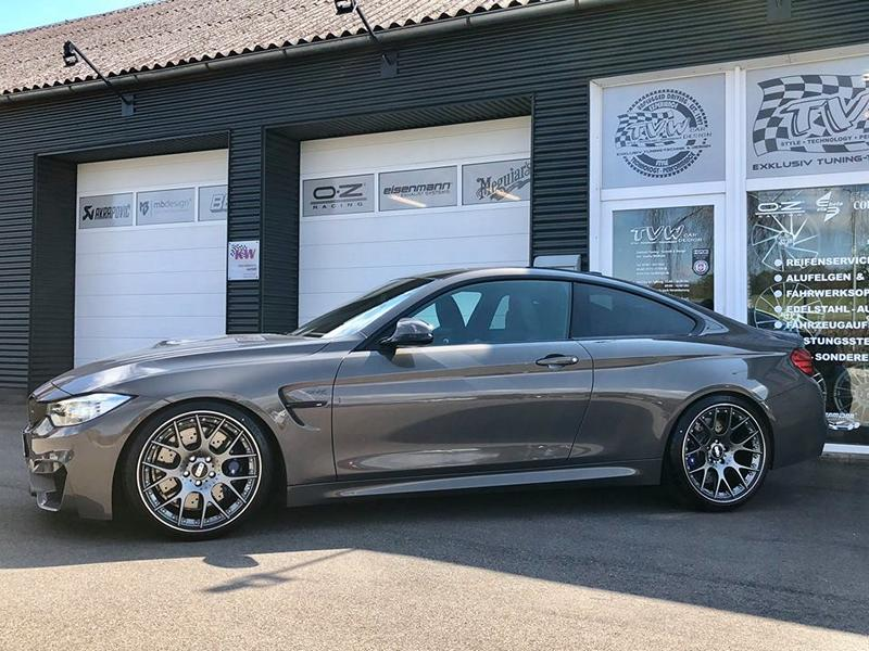BMW M4 F82 Competition BBS KW Tuning 3 BMW M4 F82 Competition vom Tuner TVW Car Design