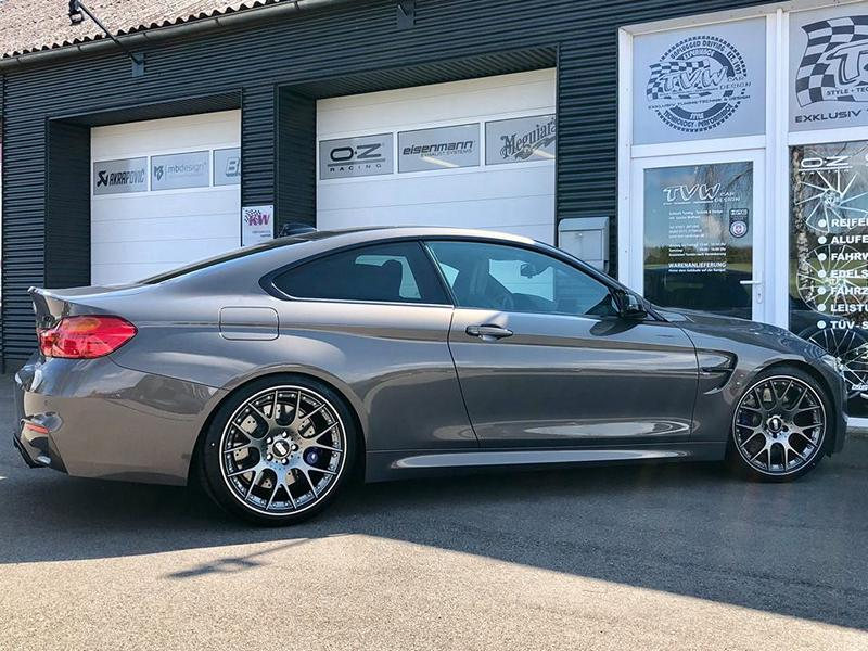 BMW M4 F82 Competition BBS KW Tuning 4 BMW M4 F82 Competition vom Tuner TVW Car Design