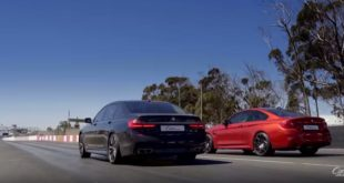 BMW M4 F82 Competition vs. BMW M760Li xDrive G12 310x165 Video: Alfa Romeo Giulia Quadrifoglio vs. Ford Mustang Shelby GT350