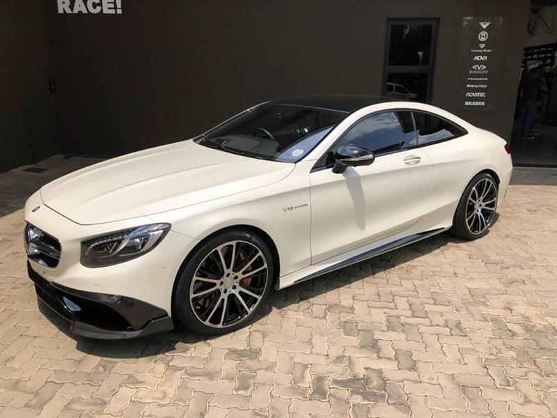 Noble - Brabus Bodykit on Mercedes S65 AMG Coupe (C217) - tuningblog ...