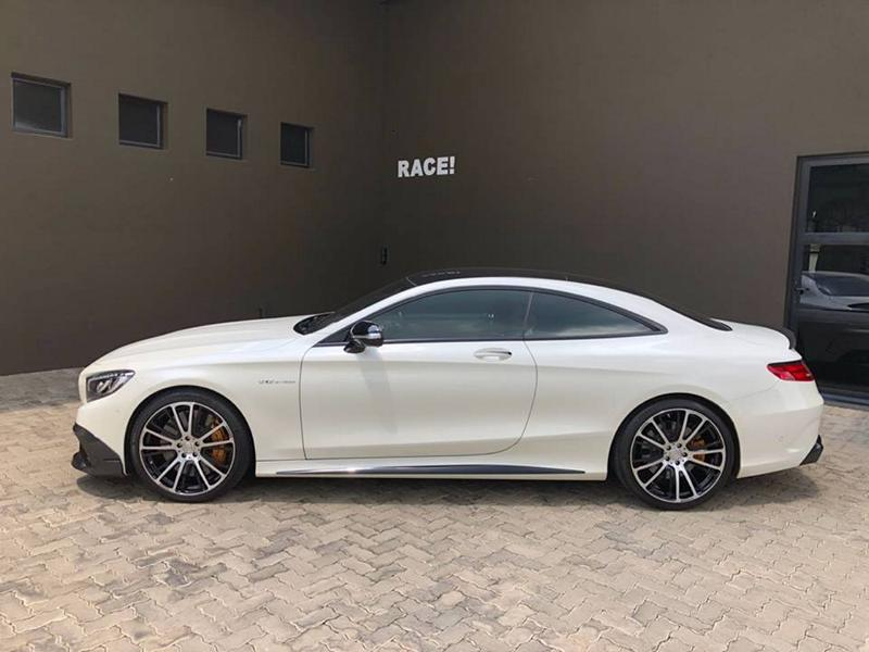 BRABUS Mercedes Benz S65 AMG Coupe C217 Tuning 2 Edel   Brabus Bodykit am Mercedes S65 AMG Coupe (C217)