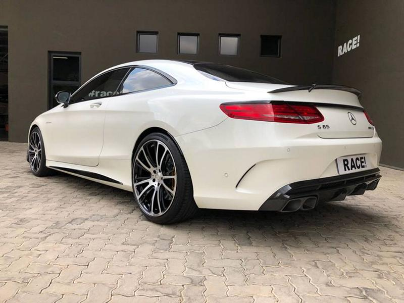 BRABUS Mercedes Benz S65 AMG Coupe C217 Tuning 3 Edel   Brabus Bodykit am Mercedes S65 AMG Coupe (C217)