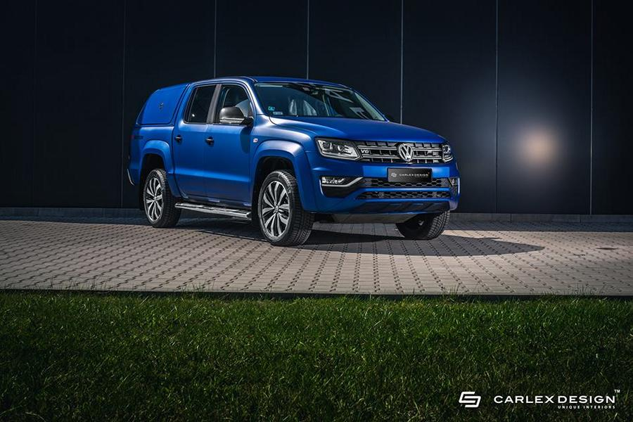 Vw Amarok Modified >> Carlex design VW Amarok Aventura in ultramarine blue - tuningblog.eu - magazine