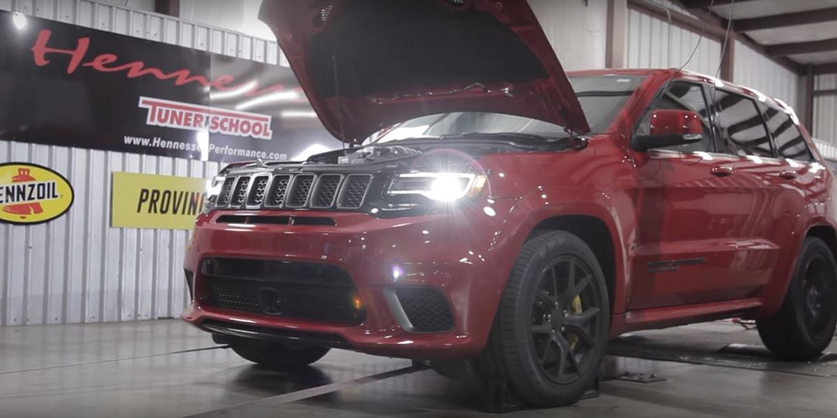 Hennessey Jeep Grand Cherokee Trackhawk HPE850 Tuning 2018 23 861 PS!!! Hennessey Jeep Grand Cherokee Trackhawk HPE850