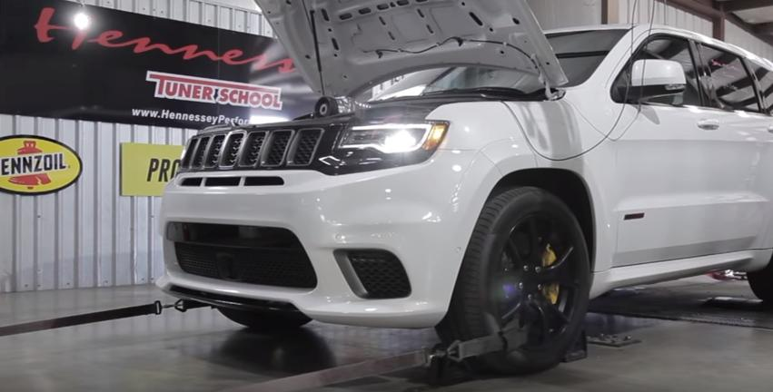 Hennessey Performance Jeep Trackhawk HPE1000 4 by Hennessey   Jeep Trackhawk HPE1000 Supercharged