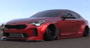 Liberty Walk Performance Kia Stinger Widebody Tuning 2018 1 310x165 DUB Kia K900 Widebody mit Airride & 24 Zoll Alufelgen