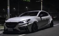 Mazda 3 Widebody Kit JGTC Airride Tuning 1 190x117 Mächtiger Style   Mazda 3 mit Widebody Kit von JGTC