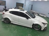 Mazda 3 Widebody Kit JGTC Airride Tuning 12 190x140 Mächtiger Style   Mazda 3 mit Widebody Kit von JGTC