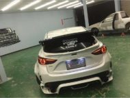 Mazda 3 Widebody Kit JGTC Airride Tuning 3 190x143 Mächtiger Style   Mazda 3 mit Widebody Kit von JGTC