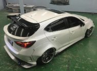 Mazda 3 Widebody Kit JGTC Airride Tuning 6 190x139 Mächtiger Style   Mazda 3 mit Widebody Kit von JGTC