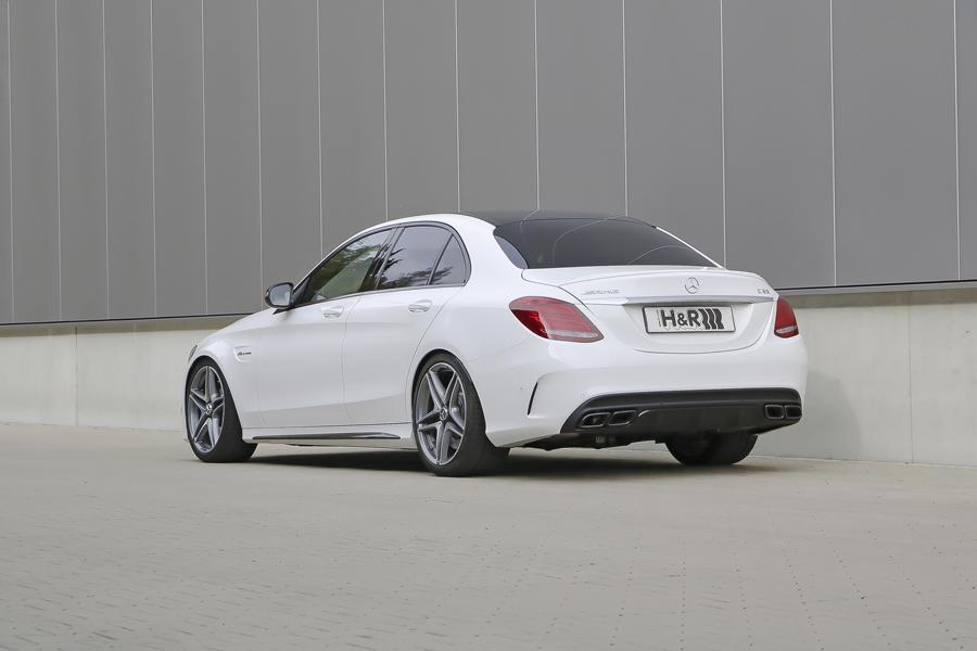 Mercedes benz c63 amg w205 mit h r federsystemen for R h mercedes benz