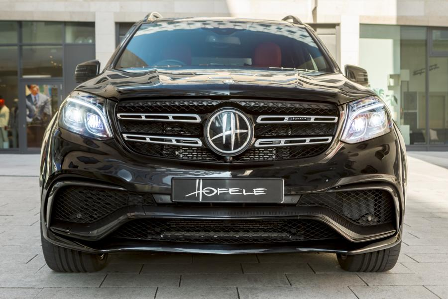 Mercedes Benz GLS63 AMG Bespoke Special Edition 63 Tuning Widebody 4 Mercedes Benz GLS63 AMG als HOFELE BESPOKE EDITION
