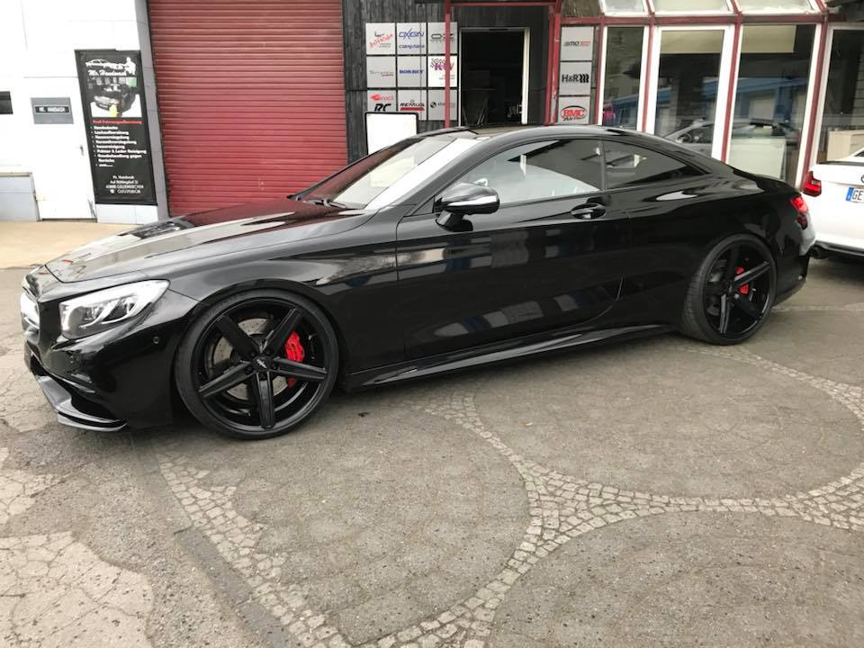 Mercedes Benz S63 AMG Coupe Oxigin 18 C217 Tuning Airmatic 1 Elegant   Mercedes Benz S63 AMG Coupe auf Oxigin 18 Alus