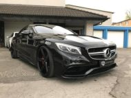 Mercedes Benz S63 AMG Coupe Oxigin 18 C217 Tuning Airmatic 6 190x143 Elegant   Mercedes Benz S63 AMG Coupe auf Oxigin 18 Alus