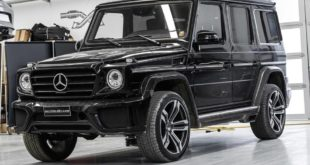 Mercedes G350d W463 Chiptuning Tieferlegung Soundmodul 5 310x165 Tiefer & mehr Power   Mercedes G350d (W463) by Mcchip DKR