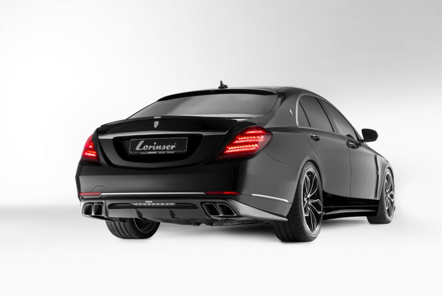 Mercedes Maybach S560 4MATIC W222 Tuning Lorinser 5 Mercedes Maybach S560 4MATIC (W222) vom Tuner Lorinser