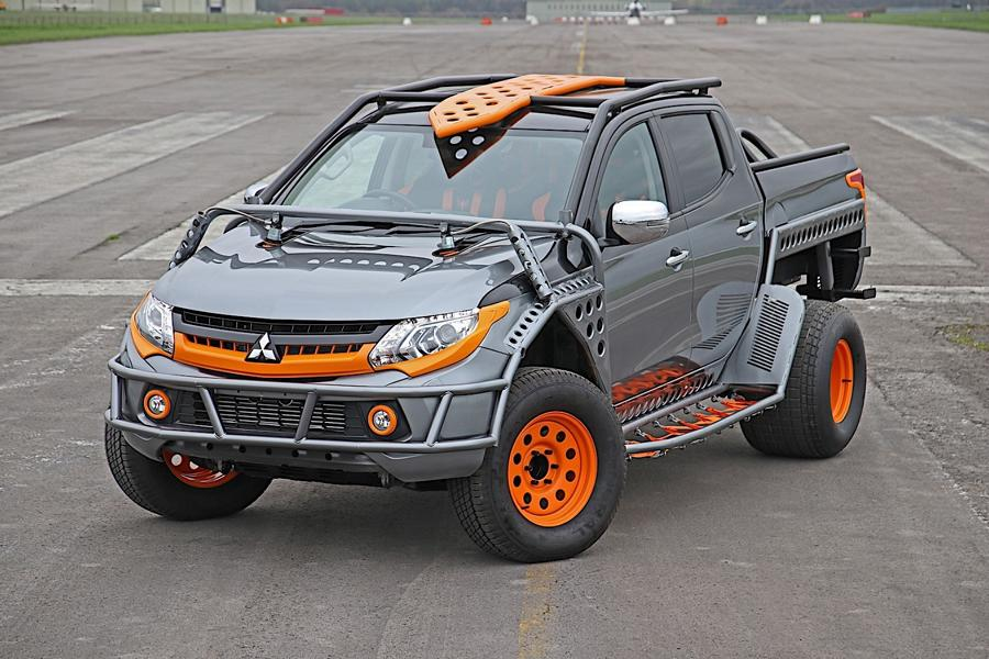 Mitsubishi L200 Fast and Furious live tuning 2018 5 Fast and Furious Live zeigt mächtigen Mitsubishi L200 Pickup