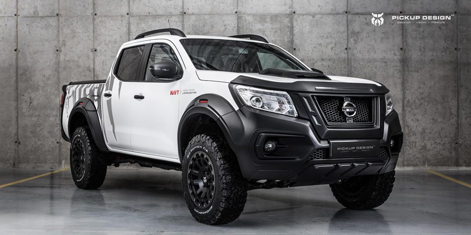Nissan Navara Navy Limited Edition Carlex Design Pickup Tuning 1 Nissan Navara Navy Limited Edition   by Carlex Design