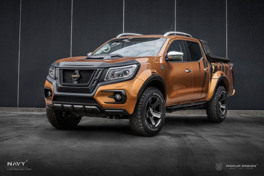 Nissan Navara Navy Limited Edition Carlex Pcikupdesign Tuning 1 Nissan Navara Navy Limited Edition   by Carlex Design