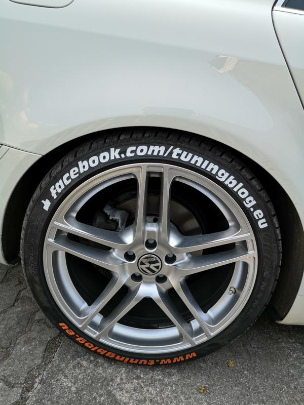 Reifensticker Reifenaufkleber Tire Style Testbericht Erfahrungen erlaubt 18 Angesagt: Reifensticker / Reifenaufkleber von Tire Style im Test