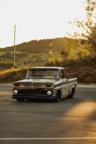 Restomod Patina 1966 Chevy C10 Forgiato V8 Tuning 24 135x203 Oberhammer   Patina 1966 Chevy C10 auf Forgiato Wheels