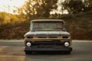 Restomod Patina 1966 Chevy C10 Forgiato V8 Tuning 26 135x90 Oberhammer   Patina 1966 Chevy C10 auf Forgiato Wheels