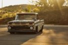 Restomod Patina 1966 Chevy C10 Forgiato V8 Tuning 3 135x90 Oberhammer   Patina 1966 Chevy C10 auf Forgiato Wheels