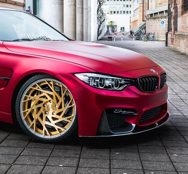Satin Red BMW M3 F80 ZP.11 Felgen Tuning Z Performance Wheels 10 Perfekt? BMW M3 F80 in Satin Red auf Z Performance Felgen