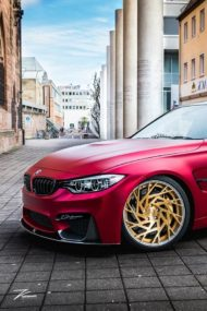 Satin Red BMW M3 F80 ZP.11 Felgen Tuning Z Performance Wheels 2 190x285 Perfekt? BMW M3 F80 in Satin Red auf Z Performance Felgen
