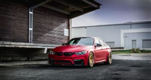 Satin Red BMW M3 F80 ZP.11 Felgen Tuning Z Performance Wheels 7 310x165 Perfekt? BMW M3 F80 in Satin Red auf Z Performance Felgen