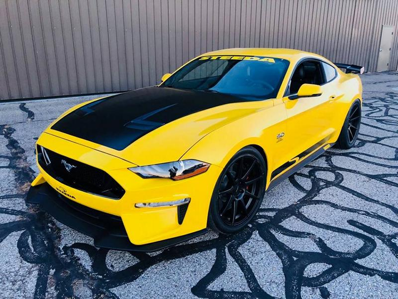 Steeda Ford Mustang GT Q500 Enforcer Tuning 2018 5 Dampfhammer Steeda Ford Mustang GT Q500 Enforcer