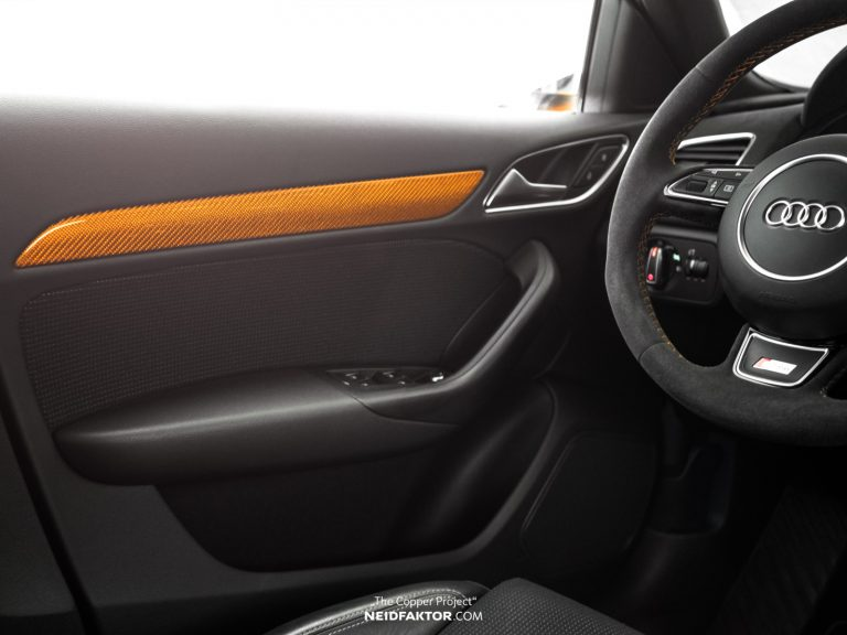 """THE COPPER PROJECT Neidfaktor Audi Q3 5 """"THE COPPER PROJECT""""   Neidfaktor veredelt den Audi Q3"""