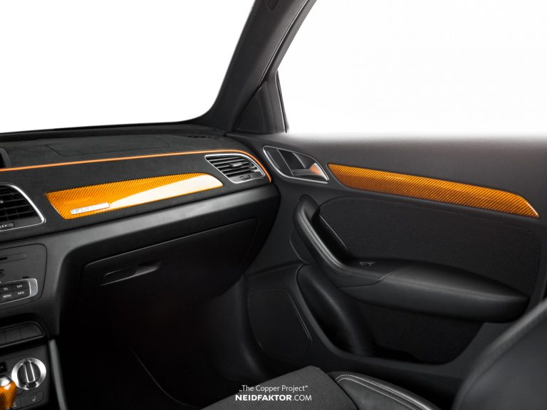 """THE COPPER PROJECT Neidfaktor Audi Q3 6 """"THE COPPER PROJECT""""   Neidfaktor veredelt den Audi Q3"""