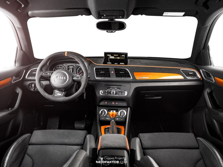 """THE COPPER PROJECT Neidfaktor Audi Q3 7 """"THE COPPER PROJECT""""   Neidfaktor veredelt den Audi Q3"""