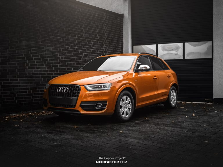 """THE COPPER PROJECT Neidfaktor Audi Q3 8 """"THE COPPER PROJECT""""   Neidfaktor veredelt den Audi Q3"""