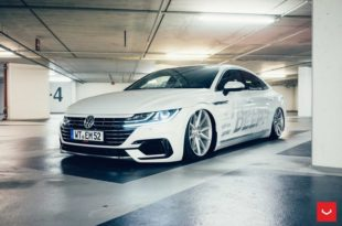 VW Arteon HOW DEEP Vossen LC105 T VFS 1 Airride Tuning 39 310x205 Mega fett   VW Arteon von HOW DEEP auf Vossen Alus
